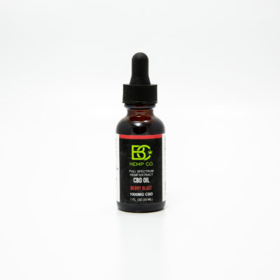 CBD Oil 1000mg berry blast