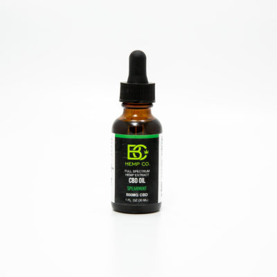 CBD Oil 500mg spearmint