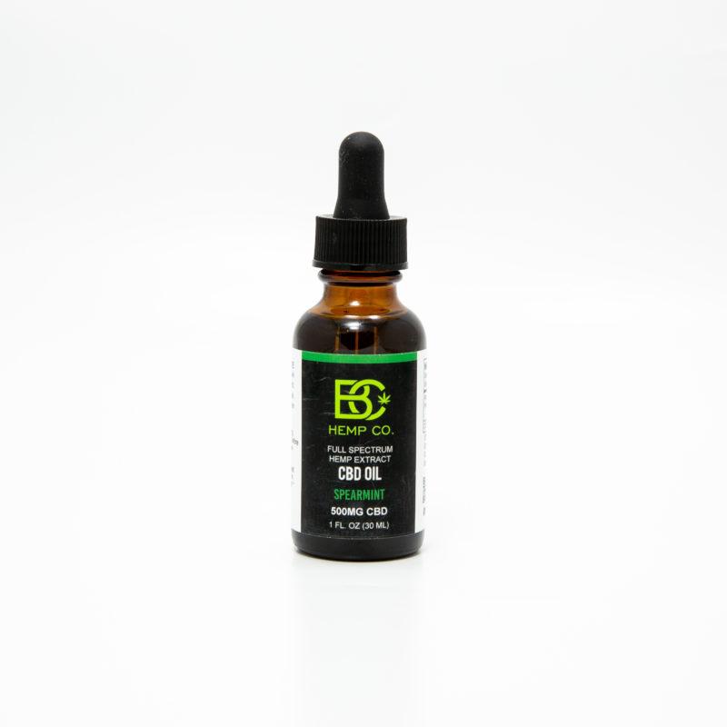 CBD Oil 500mg spearmint
