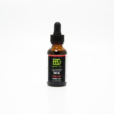 cbd oil 500mg berry blast