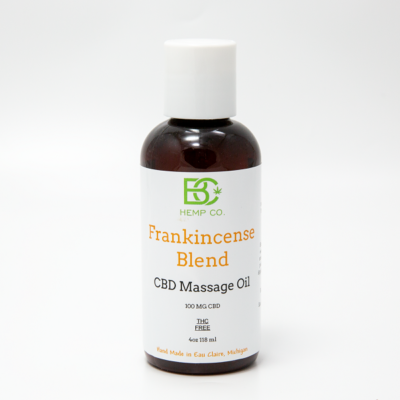 Frankincense CBD Massage Oil