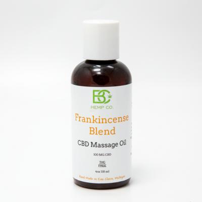 Frankincense CBD Massage Oil