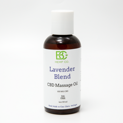 Lavender CBD Massage Oil