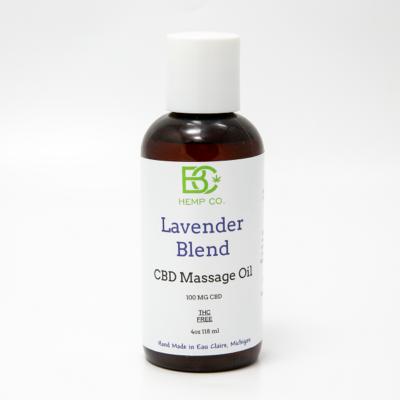 Lavender CBD Massage Oil